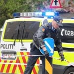 Suitcase caused bomb scare at Oslo synagogue