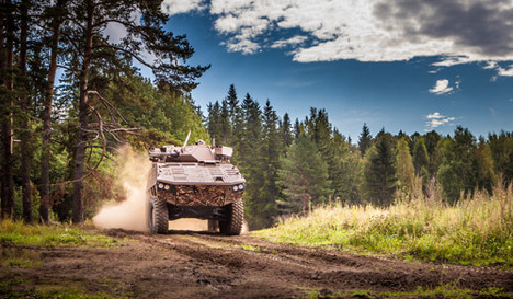 Norway firm to buy portion of Finland defence company