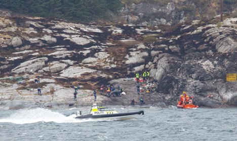 No distress call in Norway helicopter crash