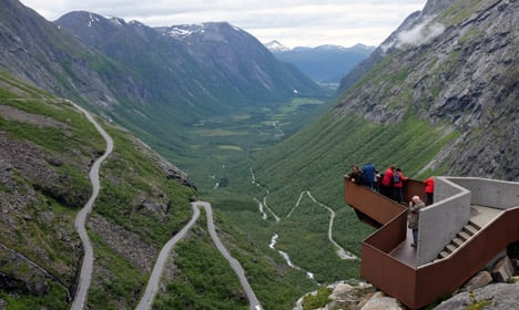 Norway's most spectacular road opens for summer