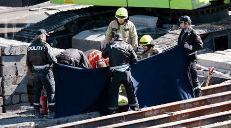 Swede's death in Oslo pipe ruled an accident