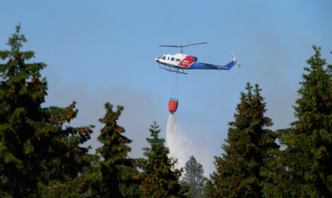 Oslo area hit by two massive forest fires