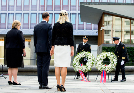 Norway PM: 'Time does not heal all wounds'