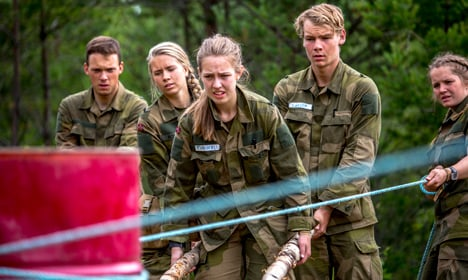 Tanks, guns and bras: Norway's women join the draft
