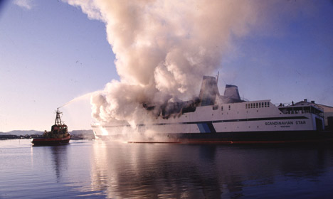 Survivors slam Norway police for dropping ferry fire case
