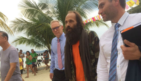 'I am so very happy and lucky to be alive': Freed Norwegian