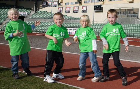Norwegian kids are fourth fittest in the world
