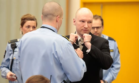 Date set for Norway's appeal over Breivik ruling