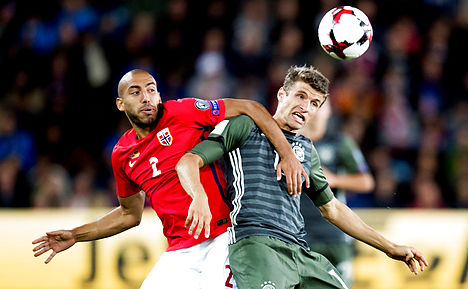 Norway no match for reigning champs Germany