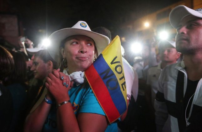 Norway left shocked after Colombia peace deal rejected