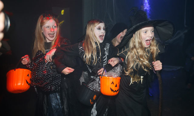 Halloween tricks give Norwegian police a busy night
