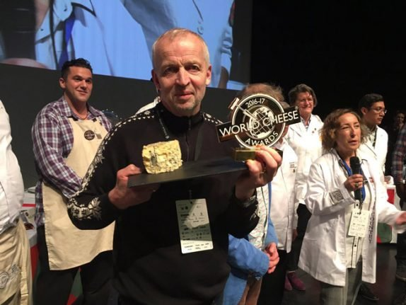 The world's best cheese comes from Norway