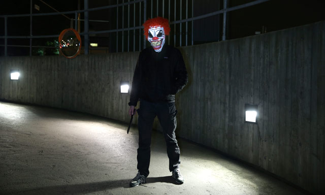 Norwegian teen in Halloween mask attacks woman with knife and axe