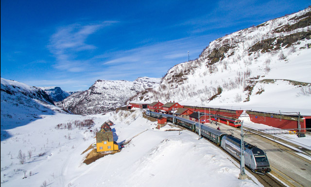 VIDEO: All aboard this virtual train ride through beautiful Norway