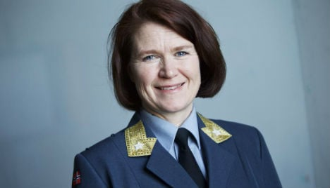 Norway appoints first female air force chief