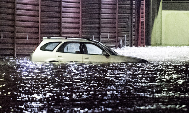 Norway battered by strong winds and rising waters as Storm Vidar arrives