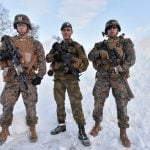 US Marines land in Norway for contested deployment
