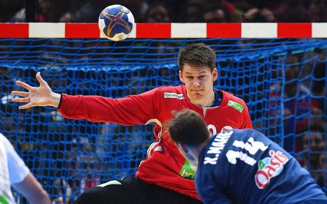 Norway comes up short in historic handball championship match
