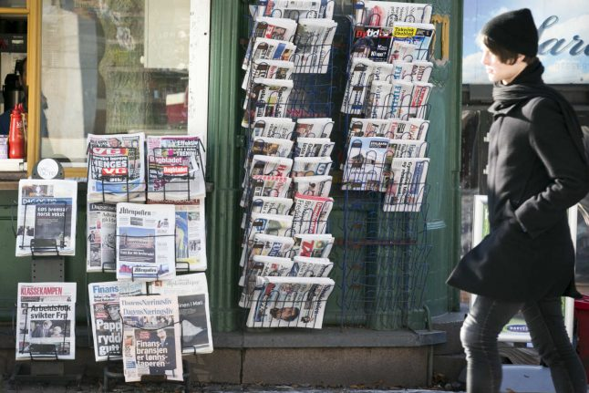 Norway ranked first for press freedoms in 'post-truth' era