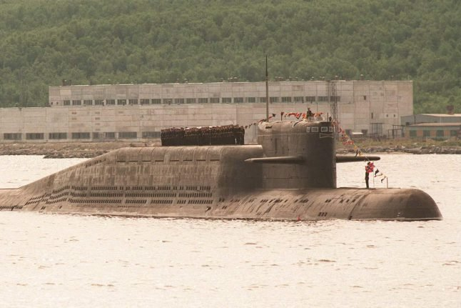 Russia to send 'world's largest nuclear sub' on voyage along Norwegian coast