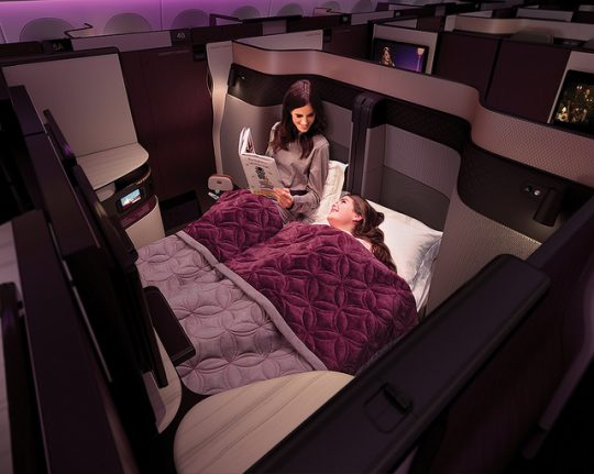 10 reasons to get on board with Qatar Airway's QSuite