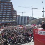 Norwegian Labour Party leader promises 'big changes' in May 1st speech