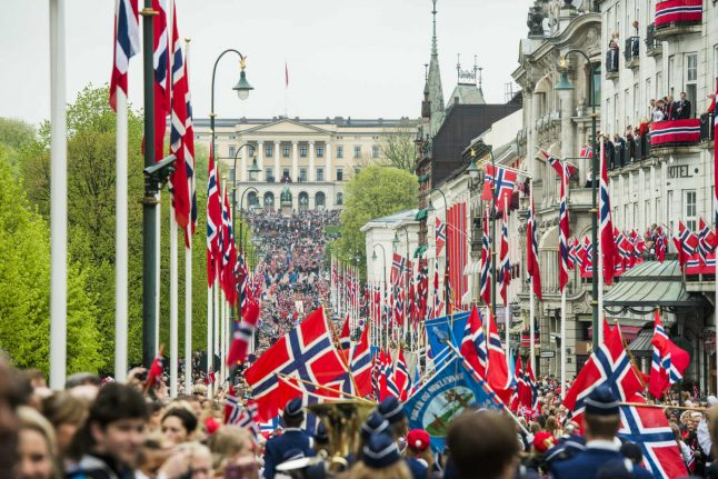 In pictures: Norway's national day