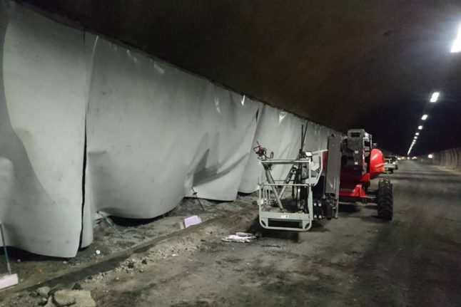 Safety issues close Oslofjord tunnel until Monday