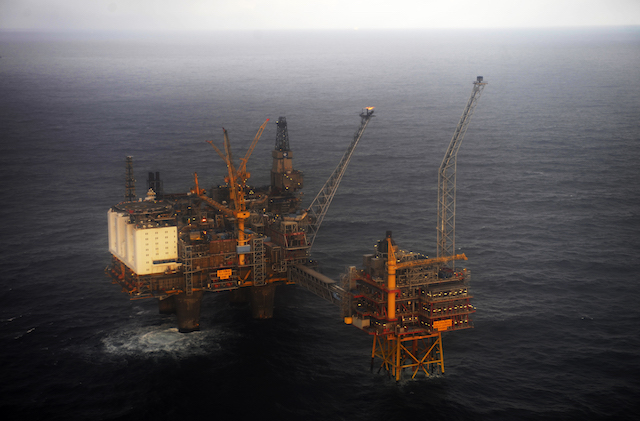 Middle East tensions push up Norwegian oil prices
