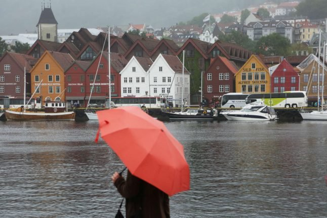 Rainy Norwegian city gets wet weather every single day in June