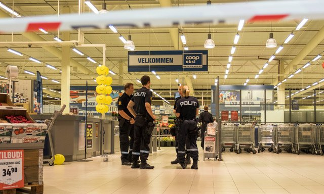 Norway shopping centre stabbing victim dies, other in critical condition