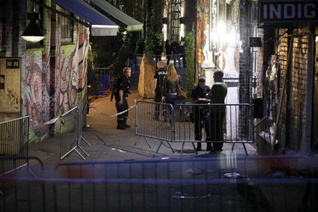 Oslo doormen shot by guest they threw out of nightclub