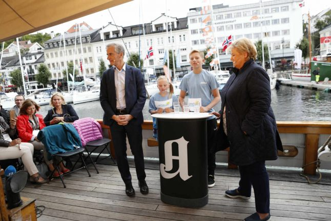 Solberg new favourite in Norway PM poll