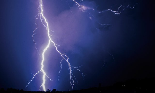 Man struck by lightning as southern Norway pounded by storms