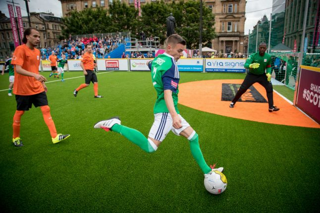 Record crowds set to watch Homeless World Cup in Norway