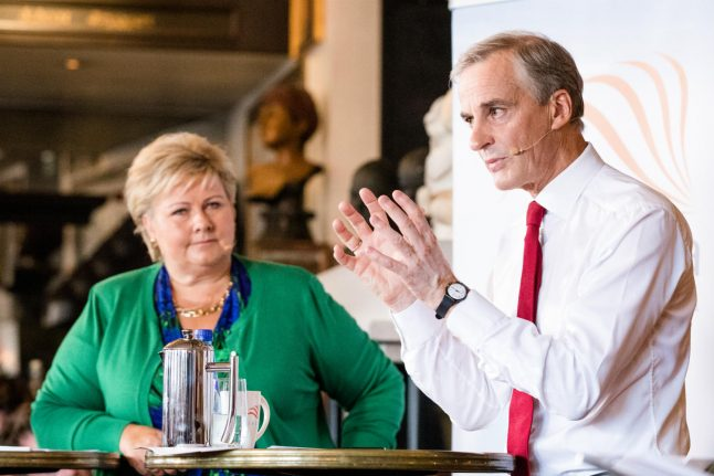 Your tax cuts 'don't work': Støre to Norway PM Solberg in election debate