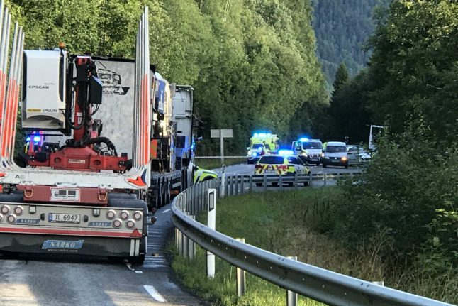 Norway woman found dead in car was murdered with knife: report