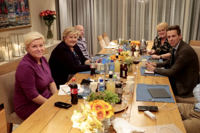 Norway's conservative parties yet to agree on government partnership