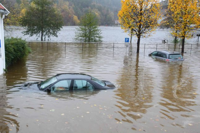 New floods close roads across southern Norway