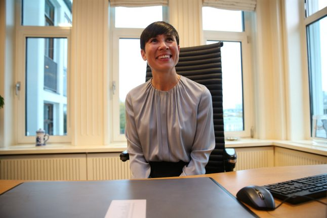 Women take top three spots in Norway government