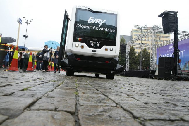 Norway nears political agreement over driverless buses