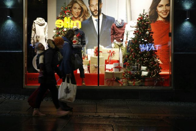 A quarter of a million Norwegian men have just started their Christmas shopping