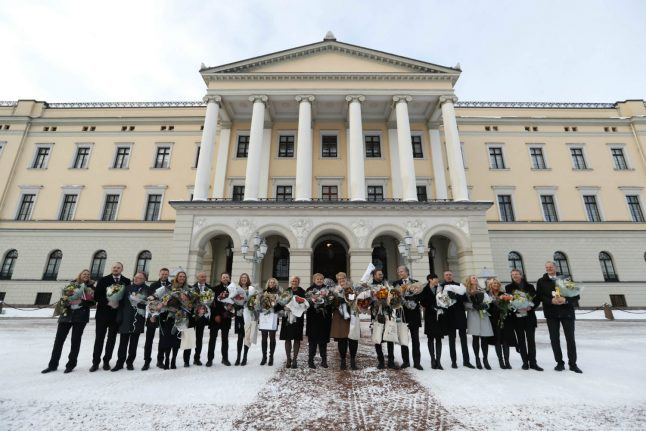 Here is Norway's new coalition government