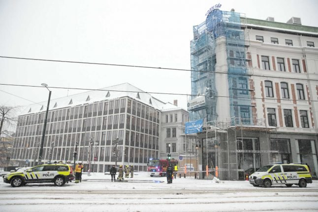Oslo building evacuated after grenade-like device discovered