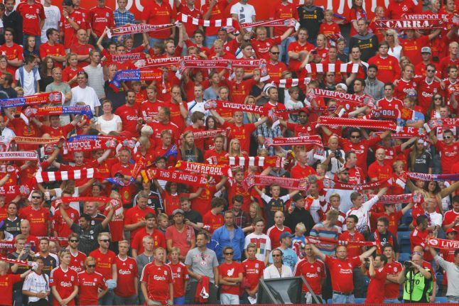 Norwegian football fan names daughter after Liverpool supporter song