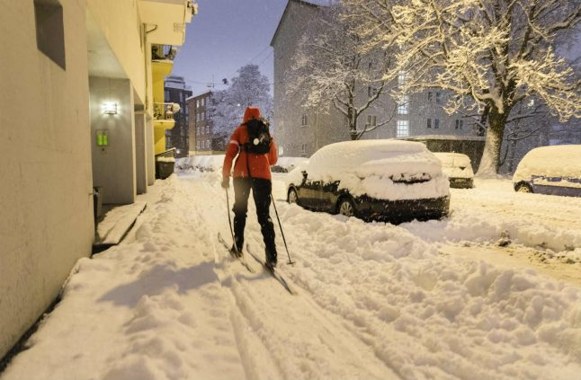 Inebriated Norwegian skier stopped by police due to poor technique