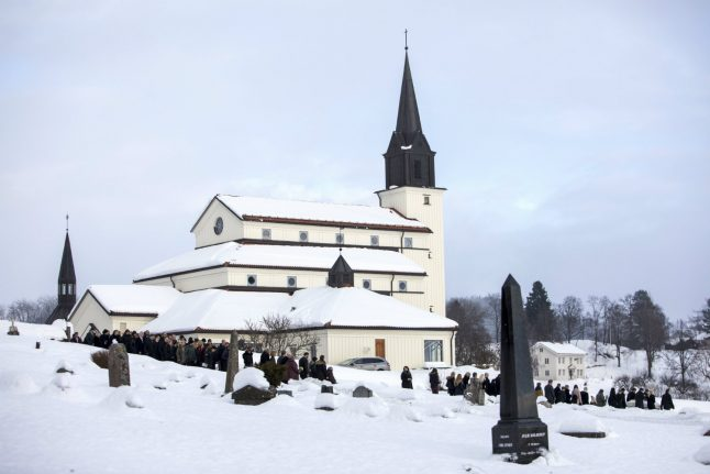 Funeral held for Norwegian woman found after weeks-long police search