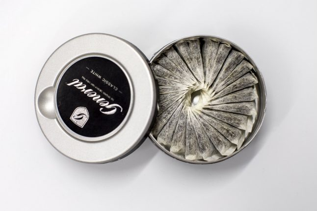 Snus is now more popular than smoking in Norway