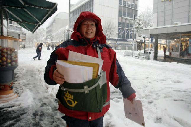 Norway's postal service could become a rarer sight with downgrade proposed