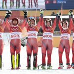 Record-breaking Norway out of Olympic golden shoes